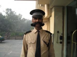 A Delhi greeting