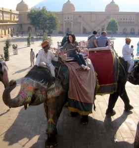 A Sodha Traveler, Margo, in Jaipur