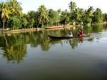 Kerala Backwater Canal, Alleppey
