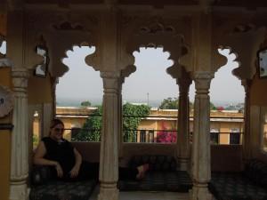 Feeling like a princess at Deogarh Mahal, Rajasthan