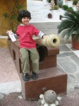 A junior Sodha Traveler in Jodhpur, India