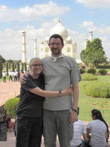 The winners of our Golden Experience Giveaway at the Taj Mahal