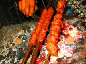 Kababs. Image courtesy of Rohit Sharma.