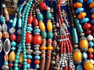 Beaded jewelry, Nepal