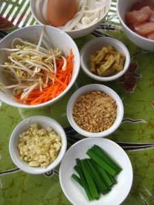 Ingredients for Pad Thai. Photo courtesy of Jeremy Keith/Flickr.