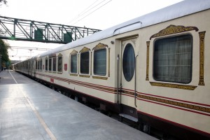Exterior View of Palace on Wheels