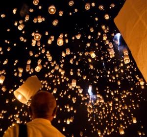 Lanterns in Chiang Mai, Thailand