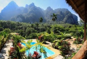 Elephant Hills Luxury Tented Camp in Khao Sok, Thailand