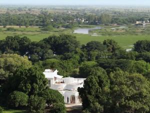Ariel View of Shahpura Bagh