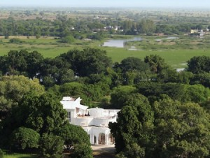 Ariel View of Shahpura Bagh