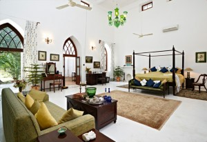 Elegantly appointed suite at Shahpura Bagh