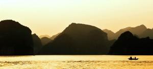 Sunset on Ha Long Bay, Vietnam. Photo courtesy of Renate Flynn/Flickr.