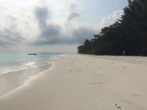 An empty beach on Koh Tachai