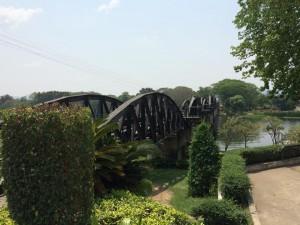 River Kwai Bridge in Kanchanaburi, Thailand