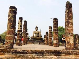 The Sodha Travel team in Sukothai, Thailand