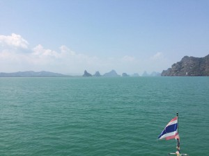 From our boat in Phang Nga Hong, Thailand