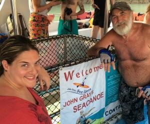 Allison Sodha with John Gray, Phang Nga Bay