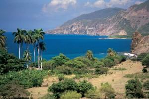 Cuba's coastline