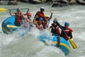 River Rafting in the Ganges
