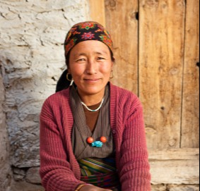 Bhutan woman
