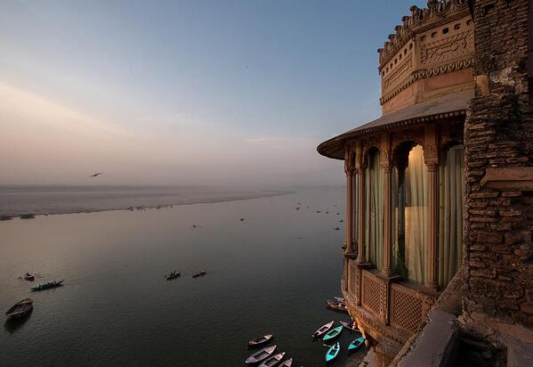 Travel consultants can offer more boutique and heritage properties, like this palace in Varanasi, India