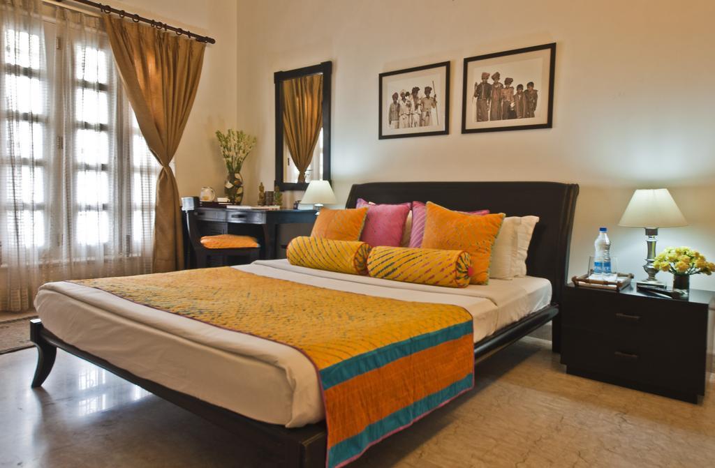 A room at Colonel's Retreat Homestay in Delhi, India