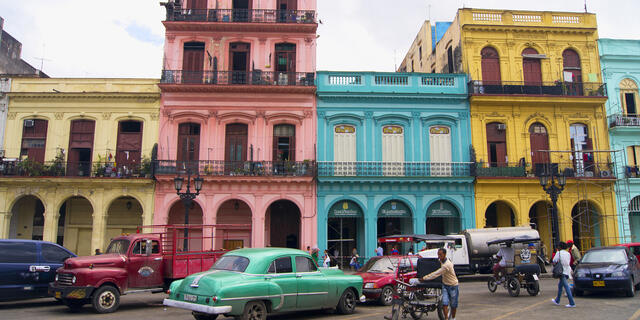 Vibrant streets of Cuba, one of Audrey's favorite destinations