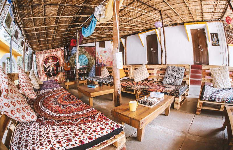 Dreams Hostel in Goa, India