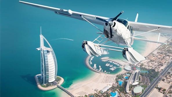 Dubai by Sea Plane