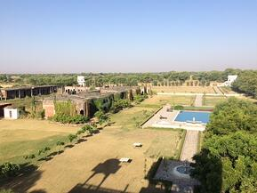 View of the Talabgaon Grounds from the Terrace