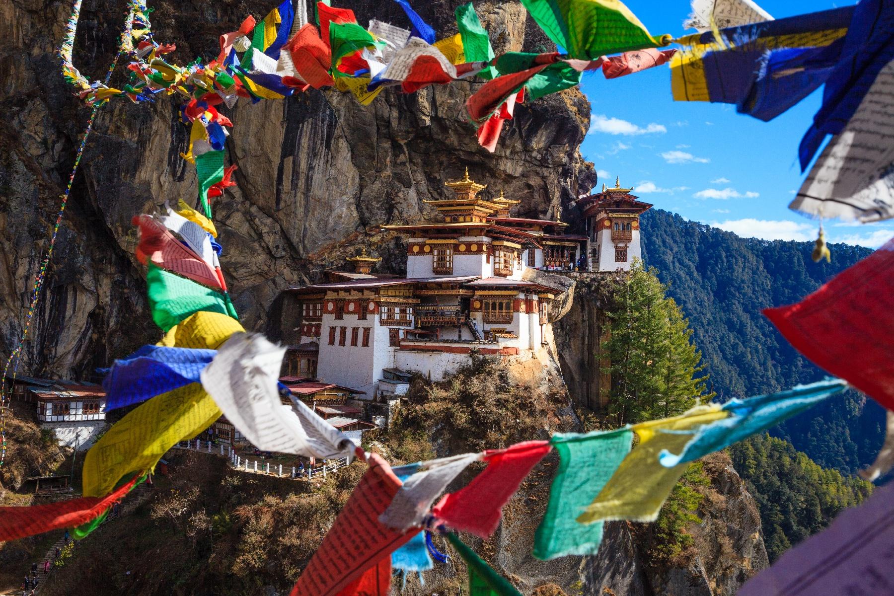 Tiger's Nest Monastery - Paro