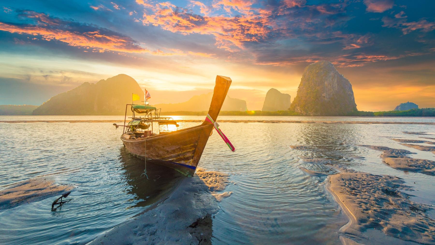 Thai Island Sunsets-1