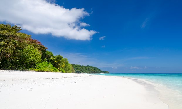 Koh Tachai, located off the coast of Phuket, is now closed to tourists