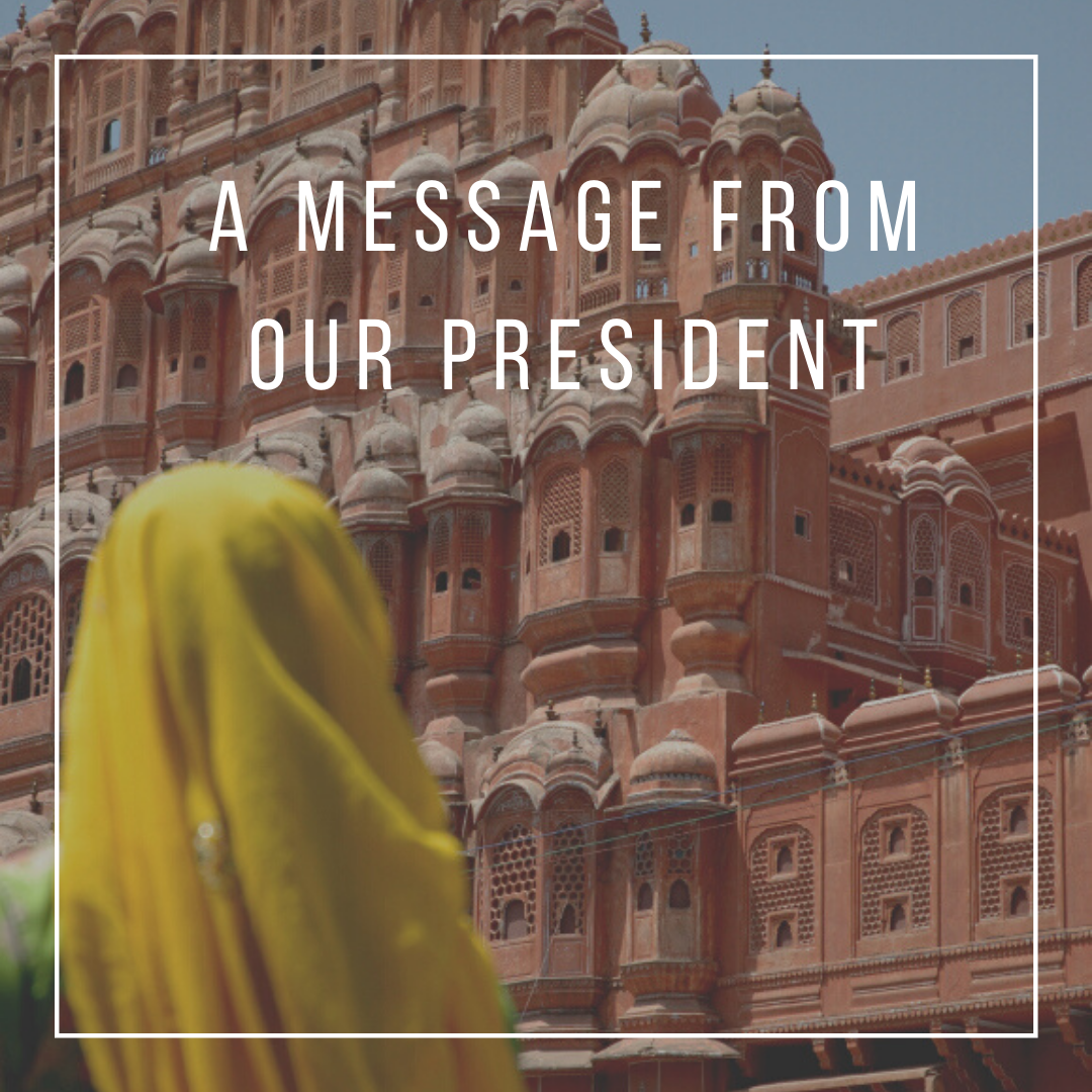 Message from President ST