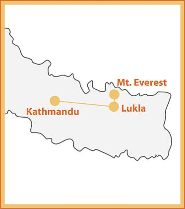 Mt. Everest Expedition Map