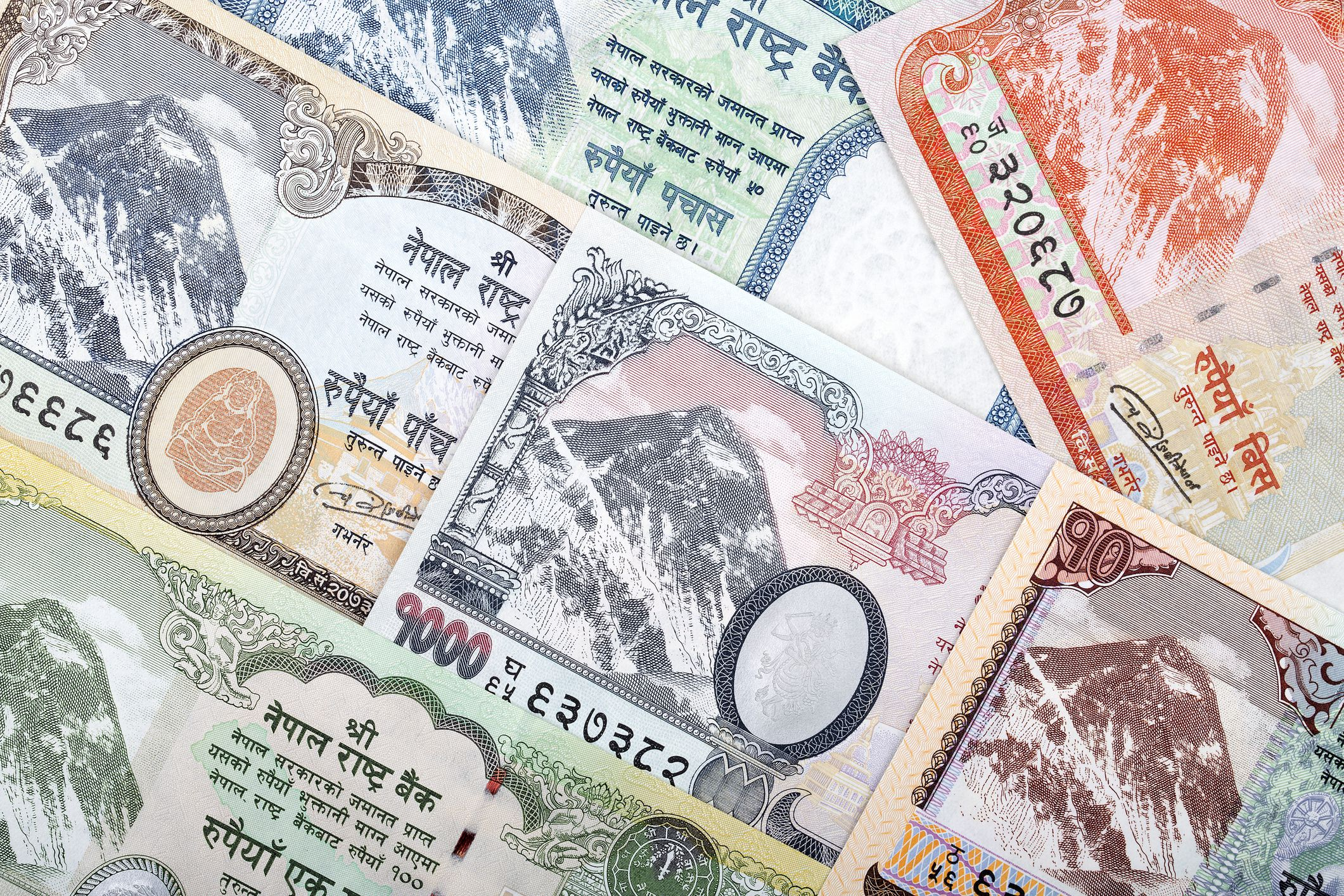 Nepal Rupees