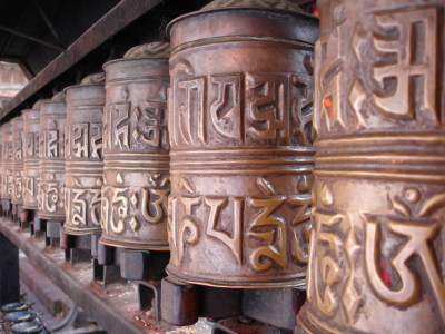 Nepal prayer wheel-1