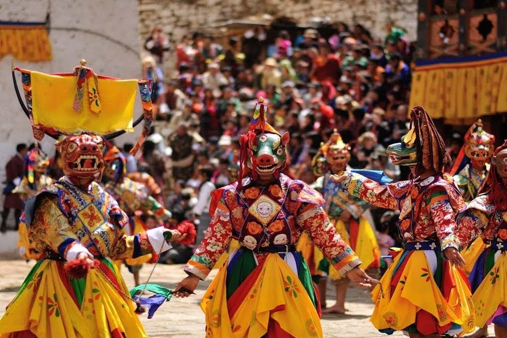 Paro Tshechu Festival