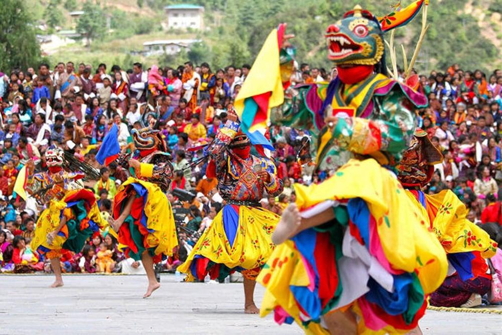 Punakha Tshechu and Drubchen Festival