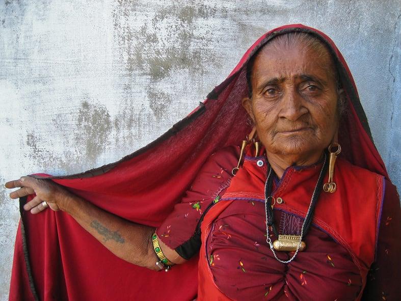 Rabari VIllage of Gada. PC: Flickr/MeenaKadri