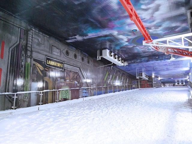 Ski Track at Ski India, Noida