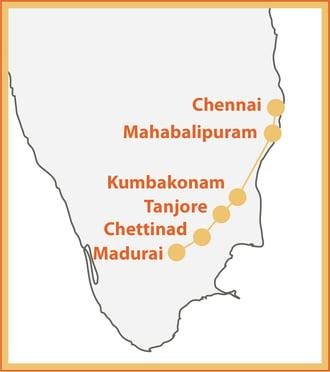 Southern Enchantment Map