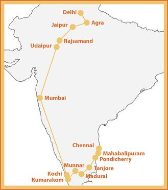 The India Explorer Map