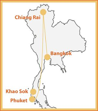 The Thailand Explorer Map