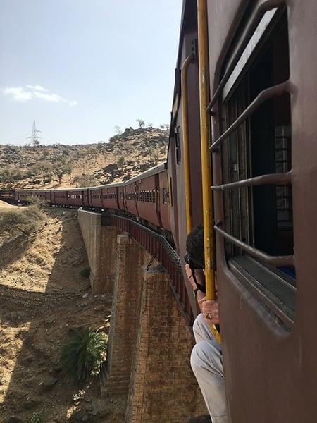 Rural Train at Devshree