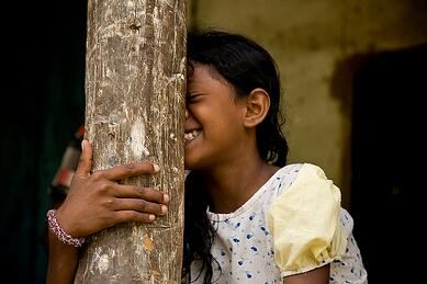 Vedda Child. Photo Courtesy of Garret Clarke/Flickr
