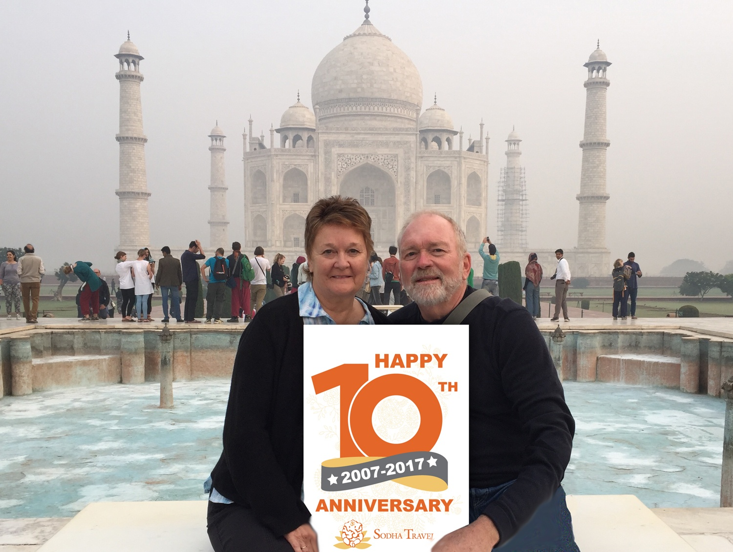 Save the Date! Sodha Travel's 10th Anniversary