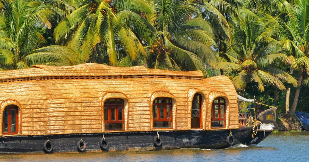 Cruising the Unique Kerala Backwaters