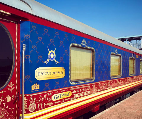 Exterior view of Deccan Odyssey
