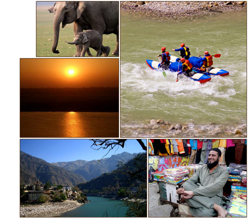 Ganges River Rafting & Elephant Safari